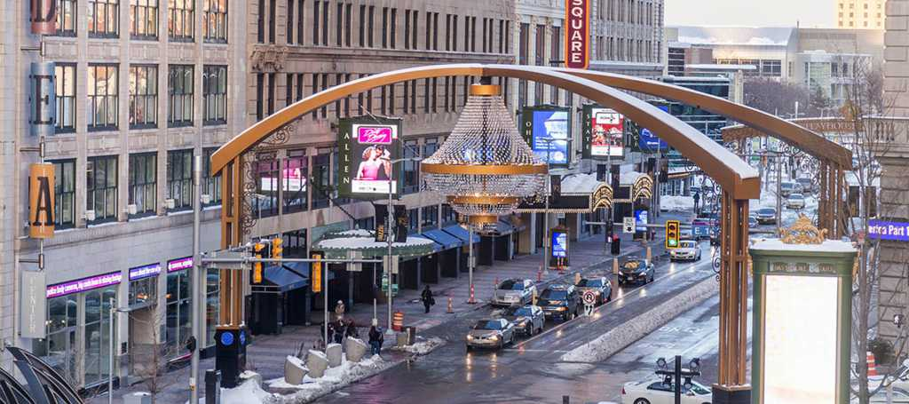 Steel-Playhouse-Square-Signage-Chandelier (3)