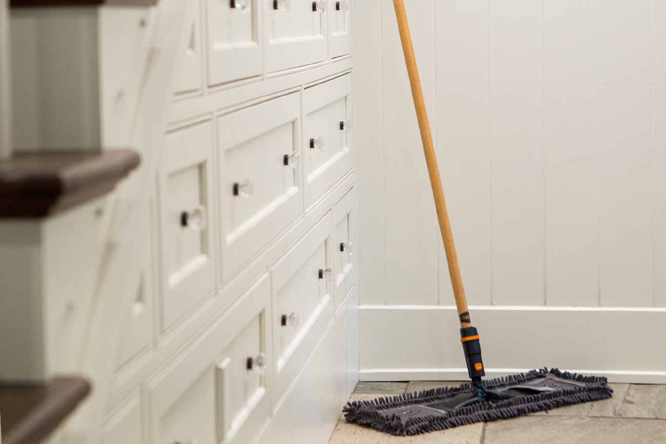 SWOPT Cleaning | about page dust mop