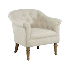 Tufted chair wedding