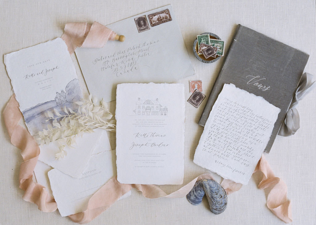 Wedding stationery inspiration - wedding shoot