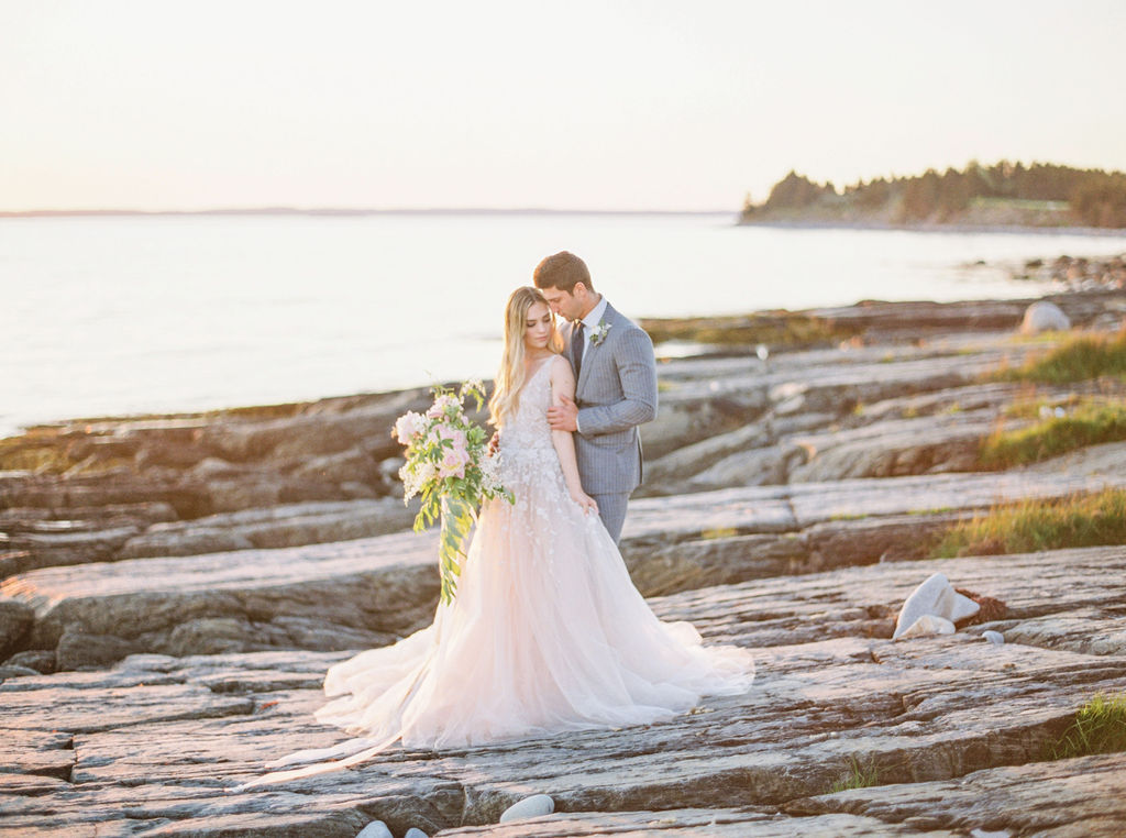 Coastal wedding - Nova Scotia styled wedding shoot