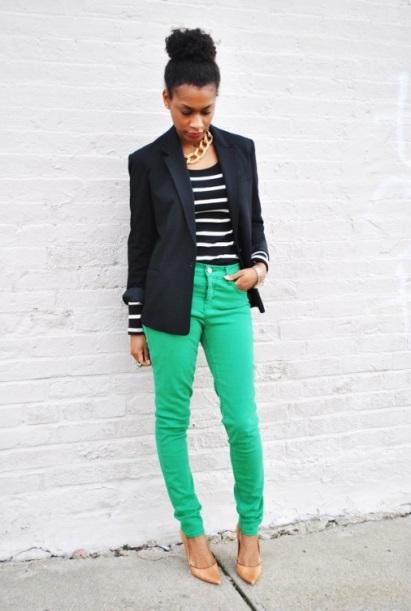 black-green-brown