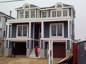 custom beach home surf city