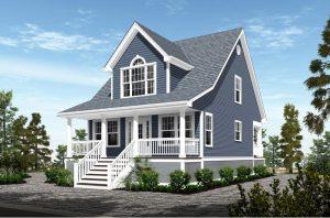 custom homes for small lots on long beach island