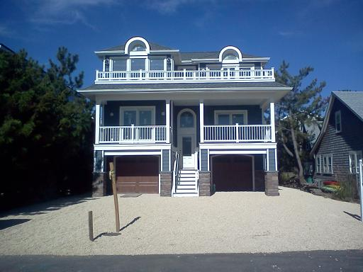 custom home on lbi