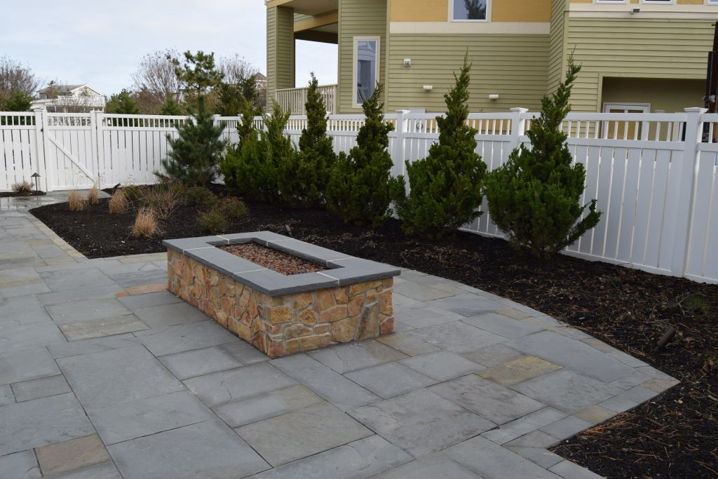landscaping for jersey shore custom homes