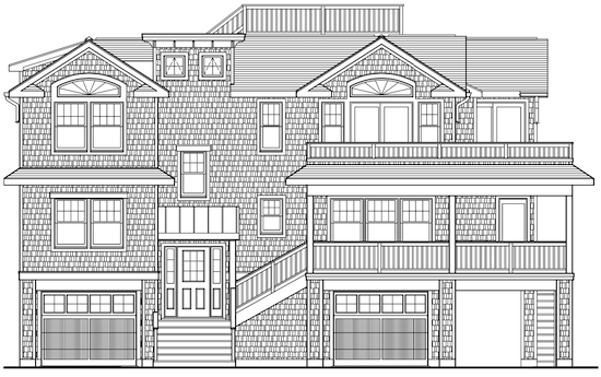 North Beach Custom - Elevation