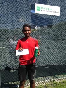 Tournoi junior TL2015 - Rudi Rajaonah (gagnant Elite)