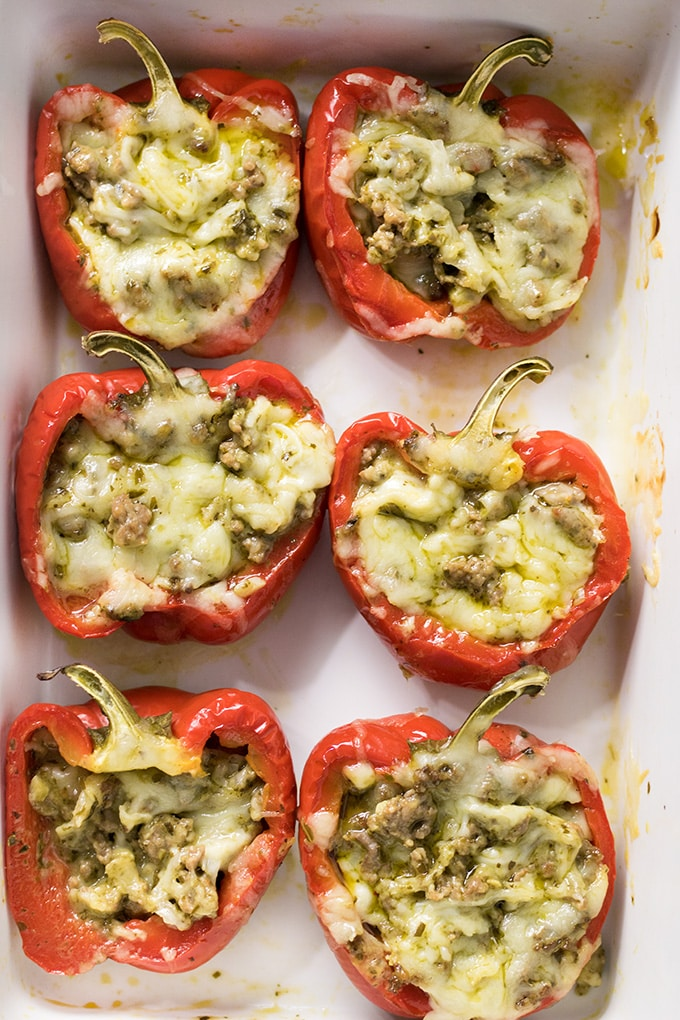 Italian stuffed peppers