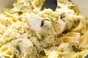 Spinach & Artichoke Dip Chicken