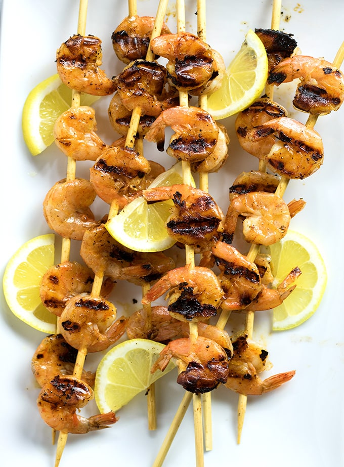 Cajun garlic shrimp