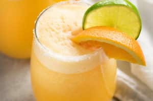 Frosty Orange Margaritas