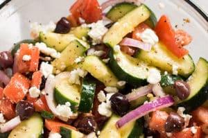 Greek Cucumber Salad