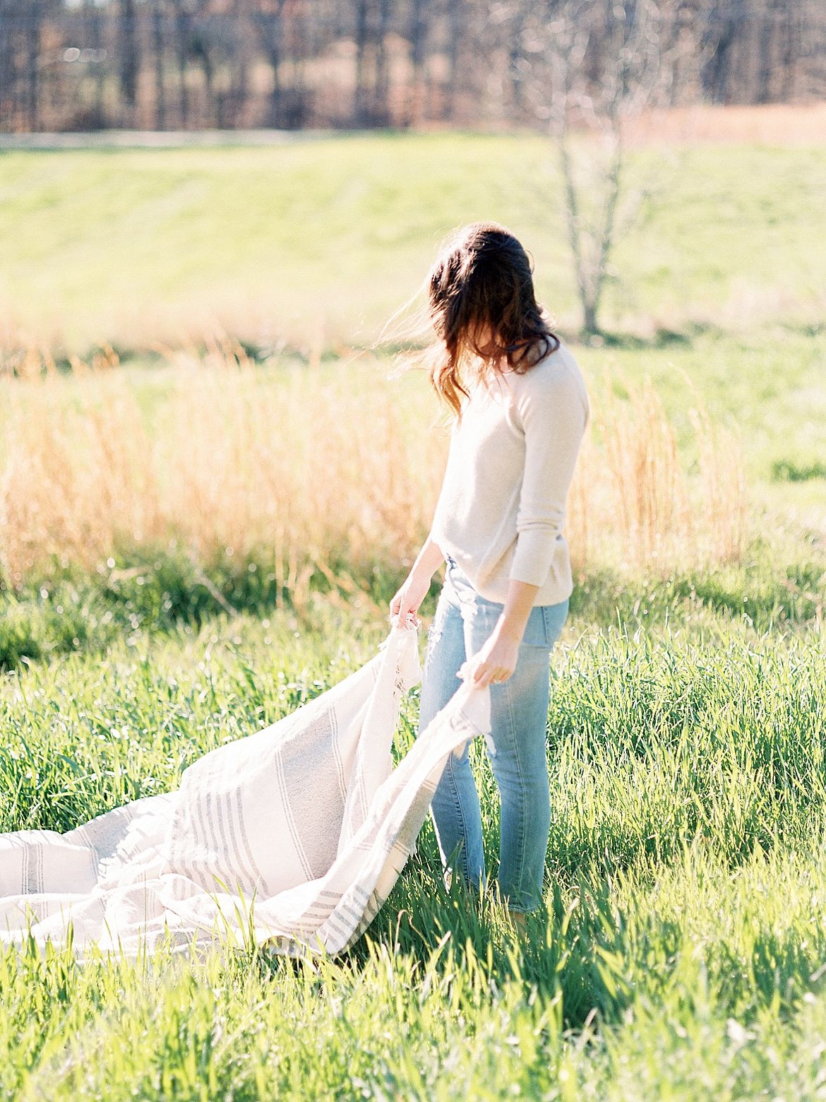 Romantic Outdoor Engagement Photography