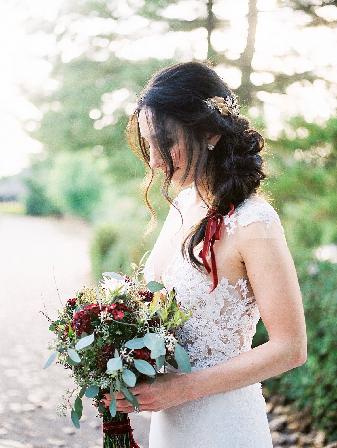 Classic European Inspired Bridal Style