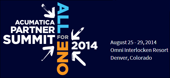 Acumatica Partner Summit 2014 (Denver, Colorado)
