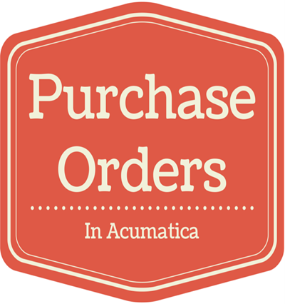Purchase Order in Acumatica