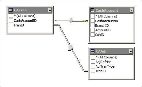 Acumatica CA Edit Report Data Access Classes (DAC)