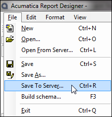 Save To Server...