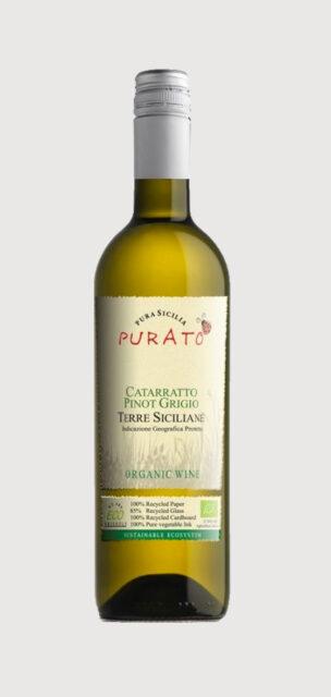 Purato Cattaratto Pinot Grigio Terre Siciliane IGP