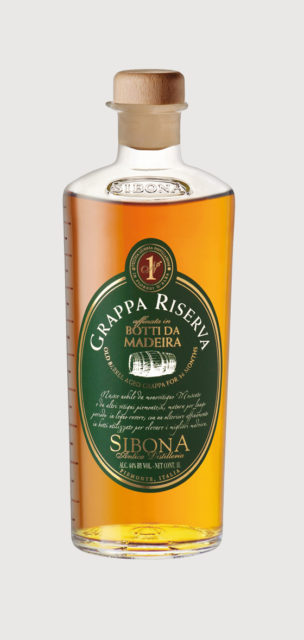 Grappa Madeira Wood Finish