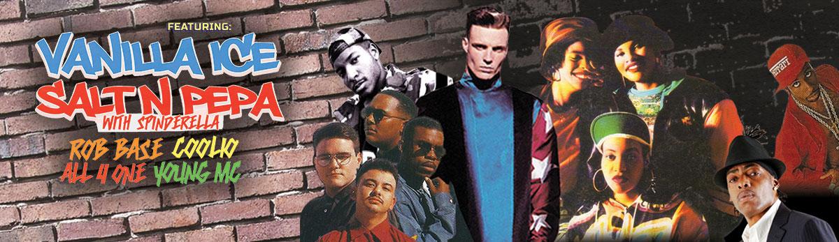I Love The 90's Tour feat. Vanilla Ice, Salt-N-Pepa