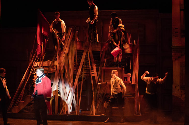 LCHS students present Les Miserables