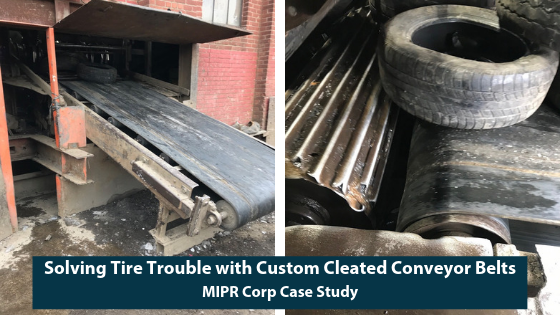 Custom Cleated Conveyor Belts for Tires