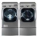1. LG Graphite Steam Electric Dryer Set