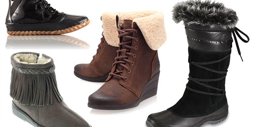 Snow boots for low temperatures