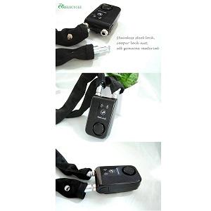 3.Bluetooth Smart Lock with Alarm Bicycle Smart Lock