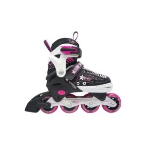 dd98013328f Deze inline skates van het merk Move zijn geschikt voor meisjes en  beschikken over een aluminium onderframe. De schoen van de skates kun je in  vier ...
