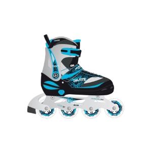 f94dc665449 Deze inline skates van Nijdam kun je omvormen tot ijsschaatsen. De skates  zijn geschikt voor schoenmaat 35 tot en met 38 en gebruiken een combinatie  van de ...