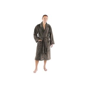 94a673a7184 Deze badjas voor heren van het merk De Witte Lietaer is beschikbaar in 3  verschillende neutrale kleuren. Daarnaast is het ook mogelijk om de  gewenste maat ...
