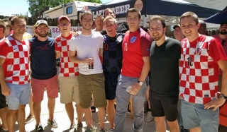 England & Croatia Advance to Semi's 2018-07-08