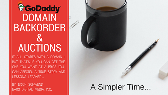 GoDaddy – Are Domain Backorders and Auctions Worth it