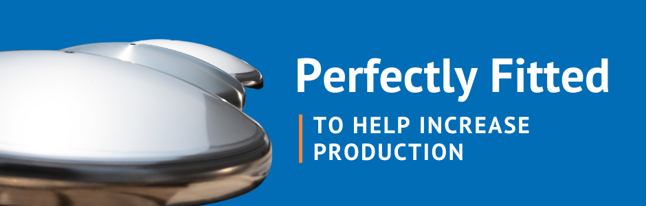 We craft stainless steel tank heads including conical and toriconical heads.