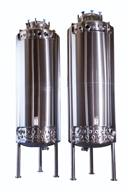 HOLLOWAY AMERICA crafts fermentation vessels like the one shown here