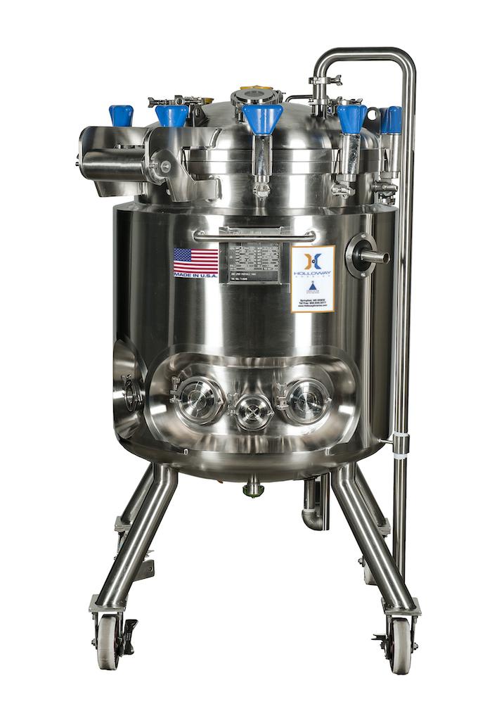 ASME-code stainless steel pressure vessels