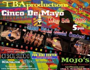 TBAproductions Cinco de Mayo 2012 Bikini Contest