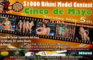 TBAproductions 4th annual Cinco de Mayo Bikini Model Contest - Sun. May 5th