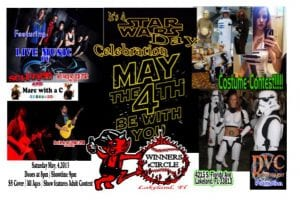 A Star Wars Day Celebration w/ SCI-FRIED - May The 4th Be With You | 863area.com