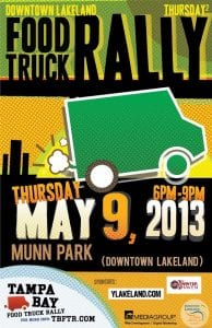 May 2013 - Food Truck Rally in Lakeland