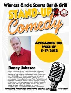 Friday Night Comedy w/ Danny Johnson at Winners Circle
