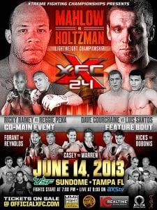 XFC 24: Collision Course - Tampa Florida, June 14th - USF Sun Dome | 863area.com