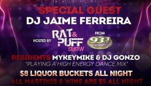 Socialite Saturday June 29th DJ Jaime Ferreira