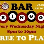 Wc Bar Bingo Every Wednesday 8pm-10pm