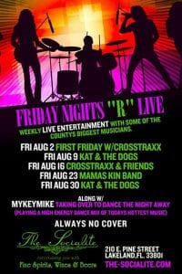 Friday Night R LIVE @ The Socialite - August