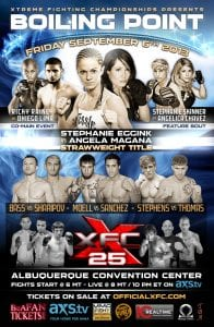 XFC 25 Event Poster