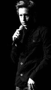 Comedian Paul Hooper